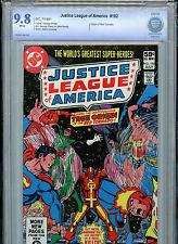 Justice League of America #192 DC Comics JLA CBCS Graded 9.8 1981 Red Tornado
