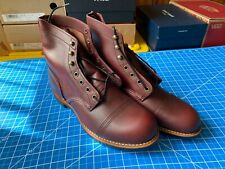 Red Wing Heritage Style 8119 IRON RANGER MEN'S 6-INCH BOOT OXBLOOD MESA LEATHER