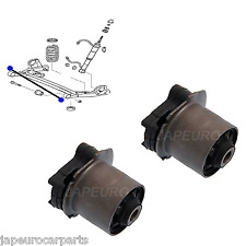 For TOYOTA ALPHARD REAR AXLE TRAILING CROSS MEMBER SUBFRAME BUSHING BUSHES PAIR