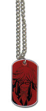 Black Butler Grell Dogtag Necklace  Official Licensed GE35562