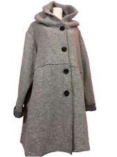 Damenjacken & -mäntel aus Wolle ohne Muster in Übergröße