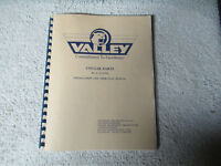 VALLEY COUAR DARTS    arcade game manual