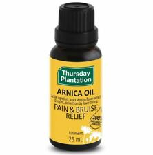 3 x 25ml THURSDAY PLANTATION Arnica Oil