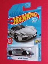 2018 Hot Wheels PORSCHE 918 SPYDER  #184 Factory Fresh FPT66-D9C0H H case