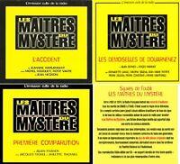 LOT 3 CD LES MAÎTRES DU MYSTÈRE DIGIPACK NEUFS  CELLO