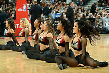 Súper Negro Brillante/Tan Americano brillante Cheerleader Hooters Chica Medias