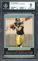 Ben Roethlisberger Rookie Card 2004 Bowman #114 Steelers BGS 9 (9 9 9.5 9.5)