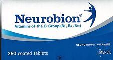 Good Health Neurobion Vitamins B Group B1 B6 B12 Merck Neurotropic 120 Tablets