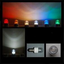 LED Lichttropfen Kronleuchterlampen 0,6W E14 klar weiß farbig