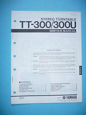Service Manual für Yamaha TT-300  ,ORIGINAL
