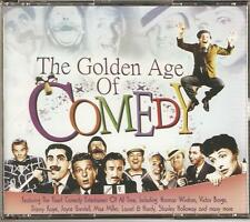 THE GOLDEN AGE OF COMEDY 3 CD BOX SET - MAGICAL MOMENTS & MORE