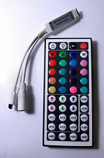 MINI CONTROLLER RGB LED + TELECOMANDO 44 KEY  GIOCHI COLORE PER STRISCIA LED RGB