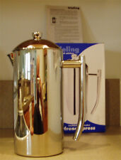 Frieling USA French Press 0104 104 6-7 Cup Coffee Maker Stainless Steel