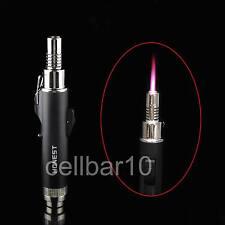 1200°C Jet Hot Pink Flame Cigar Cigarette Welding Torch Lighter W/Lock Button