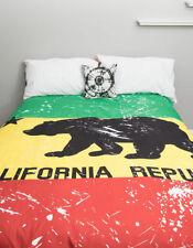 "New Rasta California Republic Bear Tapestry 60"" x 80"" Wall hanging throw decor"