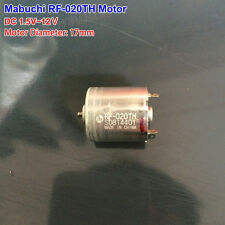 Mabuchi RF-020TH DC3V 5V 12V Mini 17mm  Motor DIY Gear motor Toy Massager Model