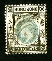 Hong Kong Stamps # 99 VF Used Scott Value $50.00