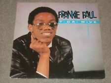 Frankie Paul ‎– Tidal Wave LP      1985     REGGAE / DANCEHALL