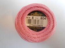 DMC Perle 5 Cotton Ball Colour Pink - 604