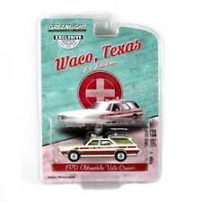 "Hobby Exclusive: 1970 Oldsmobile Vista Cruiser ""Waco, Tx Ambulance"" 1/64 Scale"