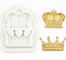 Crown Silicone Cake Mould Chocolate Cake Topper Decorating Tool