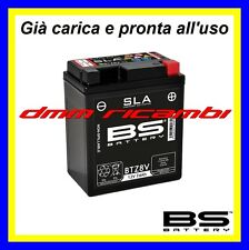 Batteria BS SLA Gel HONDA SH 125 150 i.e. 17>18 carica pronta x uso 2017 2018