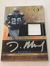 DeMarco Murray 2011 Gold Standard RC ON CARD Auto/Jersey #68/525 Titans FREE SH