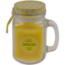 Beeswax Lemon Scented Candles & Tea Lights