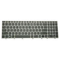 Laptop Replacement Keyboard +Frame for HP Elitebook 850 G5 755 G5 ZBook 15u