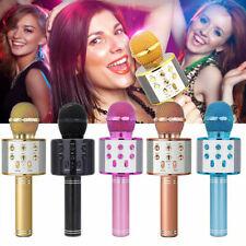 BT Karaoke Mikrofon Tragbares Handmikrofon für Kinder und Erwachsene B2U8