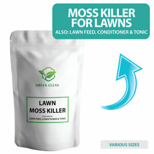 Lawn Moss Killer Lawn Feed Conditioner & Tonic - Iron Sulphate Moss Killer