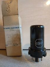6SH7 Pentode Wideband Radio Valve / Tube by Hewlett Packard (N-I-B Tested Good)