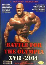 BATTLE FOR THE OLYMPIA 2014 OPEN Class dvd Mr Olympia IFBB NPC PHIL HEATH WINS!!