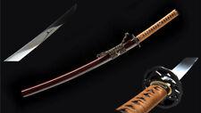 "30"" Japanese Sword Wakizashi 1095 High Carbon Steel Full Tang Razor Sharp"
