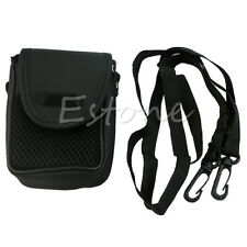 Universal Black Digital Camera Pouch Style Case Cover Bag Sleeve Mesh Protector