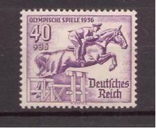 1936 Deutsches Reich Mer 616 ** Olimpiadi post freschi