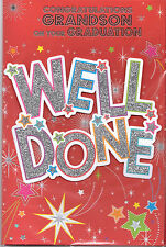 Congratulations Grandson On Your Graduation Card Well Done.