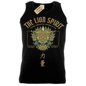 The Lion Spirit T-Shirt Japan Vest Mens