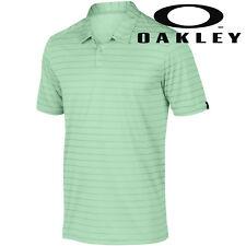 Oakley Golf 2017 Mens Top Stripe Ohydrolix Polo Shirt 433741 XL Viper