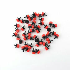 50xAdjustable Irrigation Drippers Sprinklers Emitter Drip System On 1/4in Barb~J