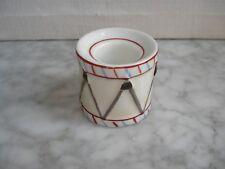 Ancien ESSUIE - PLUMES en Porcelaine -  Forme Tambour