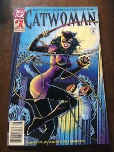 CATWOMAN # 1 DC COMICS 1993 NEWSSTAND COPY JIM BALENT