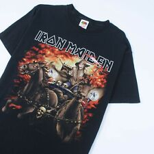 Iron Maiden Death On The Road 2005 Graphic Band T-Shirt Black Size L | Vintage