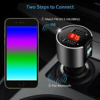 Bluetooth Car USB Charger FM Transmitter Wireless Radio Adapter MP3 Player zxc