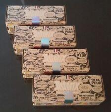 4 Triplettes Boules pétanque Obut Astérix N° 1 , 2 , 3 , 4 , Collection complète