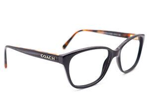 Coach Women's Eyeglasses HC 6103 5442 Black Tortoise Full Rim Frame 54[]16 140