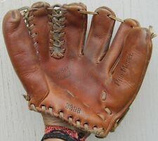 Vintage/Antique PRO MODEL 3398 LEATHER BASEBALL GLOVE Great Patina & Condition