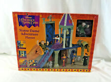 Disney Hunchback of Notre Dame Notre Dame Adventure Playset NIB New Vintage