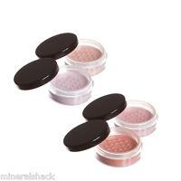 Mineralshack natural mineral makeup  face powder Blusher  Choice of 4 Shades