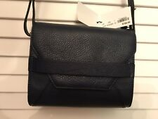Brooks Brothers Navy Leather Cross Body Purse Bag NWT MSRP $198